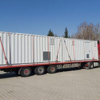 Container, Umwelttechnik, Papierindustrie, Doppelstockcontainer, Engineering
